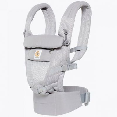 Porte-bébé Adapt Cool Air Mesh gris clair  par Ergobaby