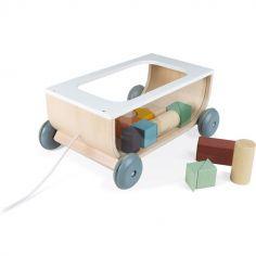 Chariot avec blocs de construction Sweet Cocoon