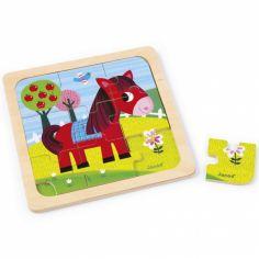 Puzzle cheval Tornado (9 pièces)