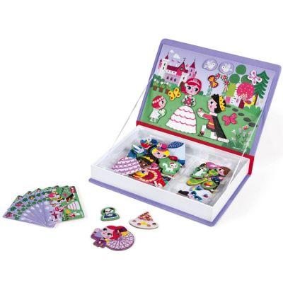 Jeu magnétique Magneti'Book Princesses Janod