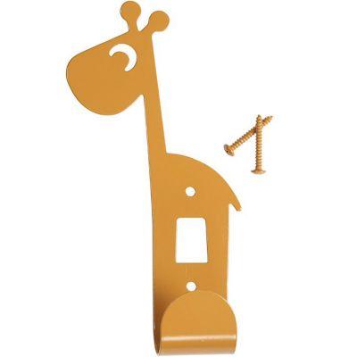 Patère Raffi la girafe jaune moutarde  par Done by Deer