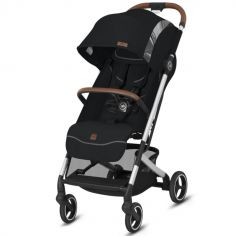 Poussette citadine Qbit+ Velvet Black Fashion Edition
