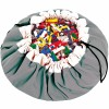 Sac à jouets 2 en 1 gris - Play&Go