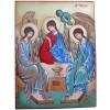 Icône de la Sainte Trinité (18 x 24 cm) - Mondo Religioso