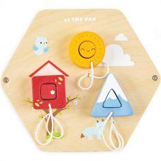 Boîte à formes murale en bois Deco-Play Petilou