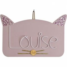 Plaque de porte Zamino chat (personnalisable)