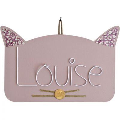 Plaque de porte Zamino chat (personnalisable) Marie-Laure Créations