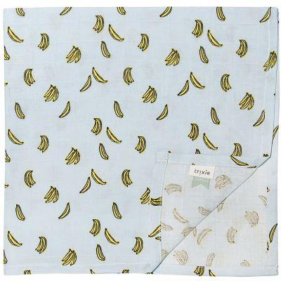 Lot de 3 langes en mousseline Bananas (60 x 60 cm)  par Trixie