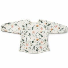 Bavoir à manches fleur Meadow Blossom