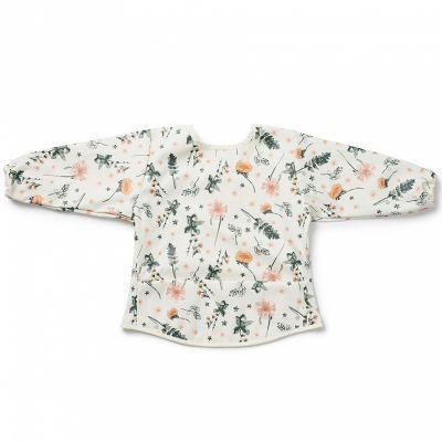 Bavoir à manches fleur Meadow Blossom  par Elodie Details
