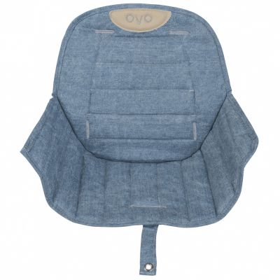 Assise tissu chaise haute Ovo Jean  par Micuna