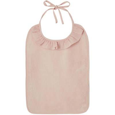 Bavoir à nouer Soft Bambou blush  par BB & Co