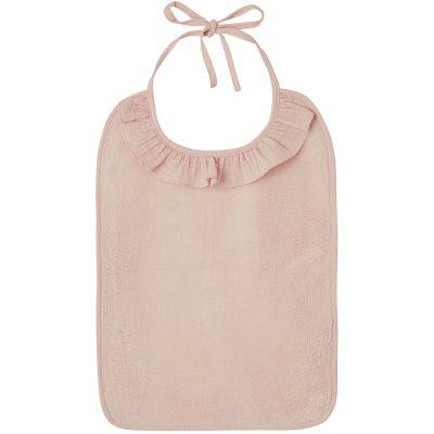 Bavoir à nouer Soft Bambou blush  par BB & Co