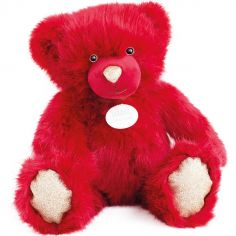 Peluche ours rouge La Peluche (40 cm)