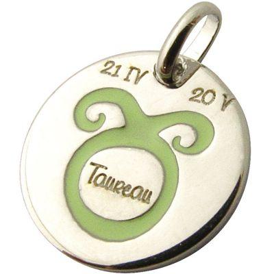 Médaille signe Taureau 14 mm (argent 925°)  par Martineau