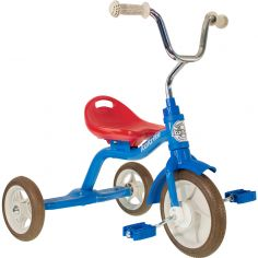Tricycle Super Touring bleu et rouge
