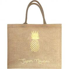Sac cabas Nounou Ananas (personnalisable)