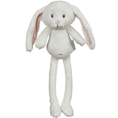 Peluche lapin Adventure pink (40 cm) Little Dutch