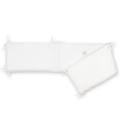 tour de lit stary cristal en softy ecru pour lits 60 x 120. Black Bedroom Furniture Sets. Home Design Ideas