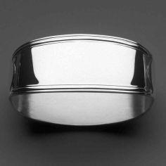 Rond de serviette Classic-Faden (métal argenté 150°)