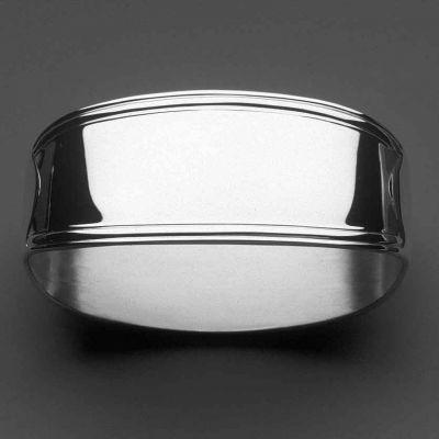 Rond de serviette Classic-Faden (métal argenté 150°)  par Robbe & Berking