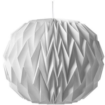Lampion boule origami blanche  par Arty Fêtes Factory