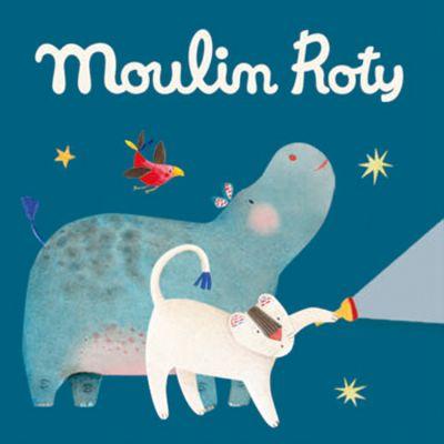 Lot de 3 disques pour lampe à histoires Les Papoum  par Moulin Roty