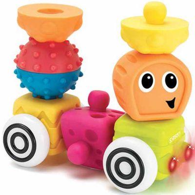 Blocs de construction Sensory Blocs (12 pièces)  par Infantino