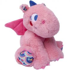 Peluche Enjoy & Dream dragon rose (22 cm)