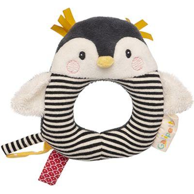 Hochet anneau pingouin Les Nanouks  par Galipette