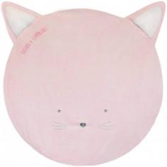 Tapis de jeu Tapidou chat rose