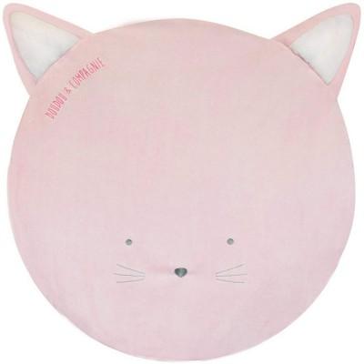 Tapis de jeu Tapidou chat rose Doudou et Compagnie
