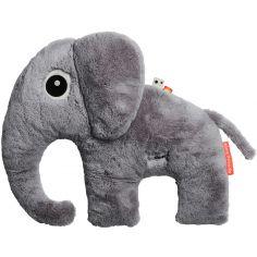 Peluche éléphant Elphee gris (44 cm)