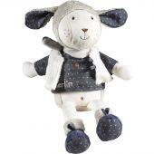 Peluche Merlin mouton (38 cm) - Sauthon Baby Déco