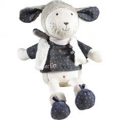 Peluche Merlin mouton (38 cm)