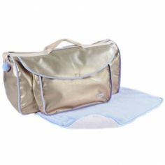 Grand sac à langer Beryl bleu