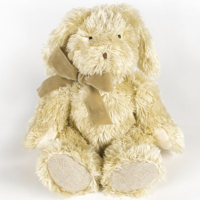 Peluche lapin Sweet Tweed beige (30 cm) Pasito a pasito