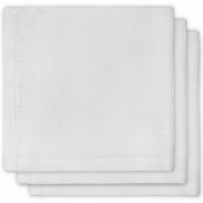 Lot de 3 essuie-mains hydrophiles blancs (31 x 31 cm)  par Jollein