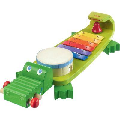 Crocodile musical  par Haba