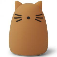 Veilleuse Winston Chat mustard (14 cm)