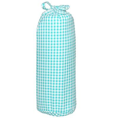 drap housse vichy Drap housse Vichy turquoise (40 x 80 cm) : Taftan drap housse vichy
