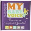 Album enregistreur souvenir My baby voice violet  - Domiva