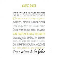 Affiche Avec Papi (40 x 50 cm)
