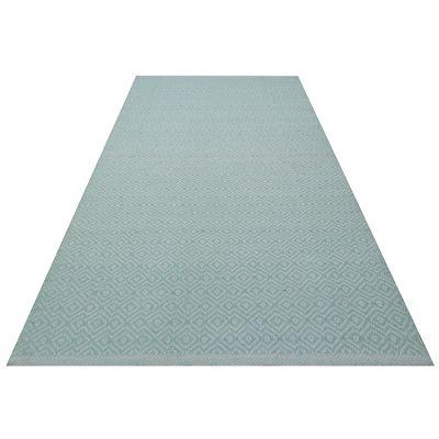 tapis rectangulaire carpy vert d 39 eau 70 x 140 cm. Black Bedroom Furniture Sets. Home Design Ideas