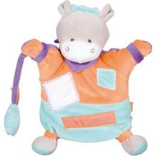 Doudou marionnette Zigag âne (22 cm)  par Doudou et Compagnie