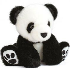 Peluche panda So Chic noir (17 cm)