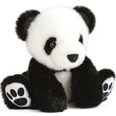 Peluche panda So Chic noir (17 cm) Histoire d'Ours