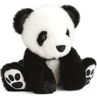 Peluche panda So Chic noir (17 cm)  par Histoire d'Ours