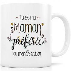 Mug céramique Maman Préférée