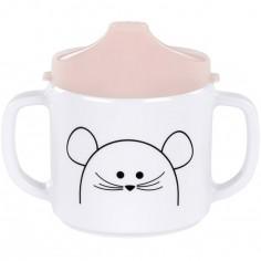 Tasse à bec Little Chums souris